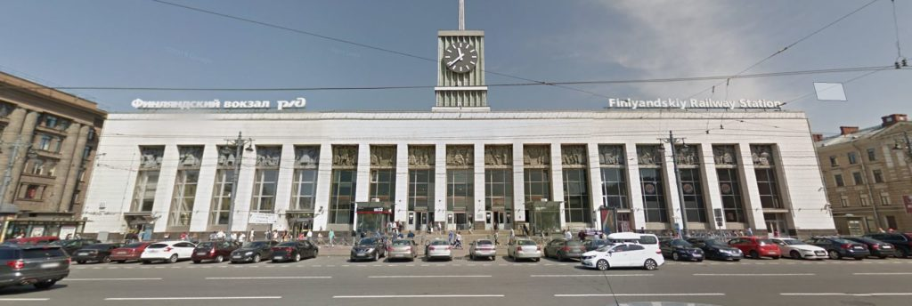 Pietarin juna-asema
