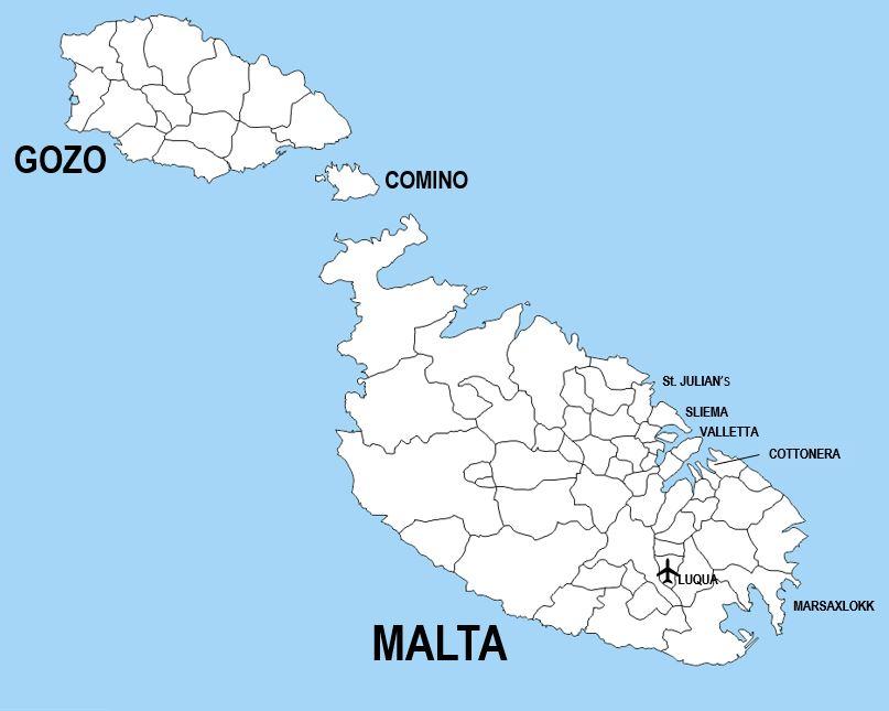 Maltan kartta