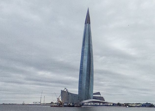 Lakhta keskus 2018