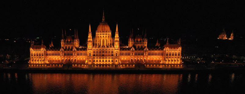 Unkarin parlamenttitalo Budapest