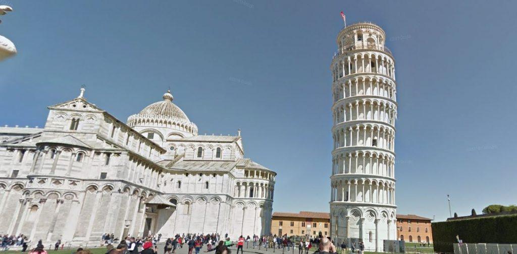 Pisan torni ja tuomiokirkko