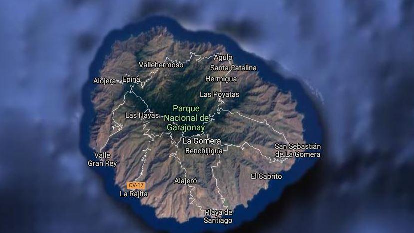 La Gomera Kanariansaaret