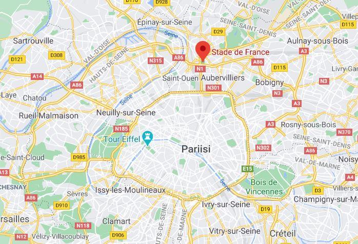 Stade France Stadion Pariisi