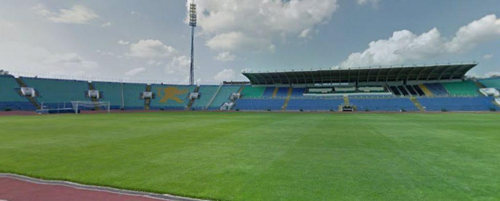 Stadion Sofia Levski kartta