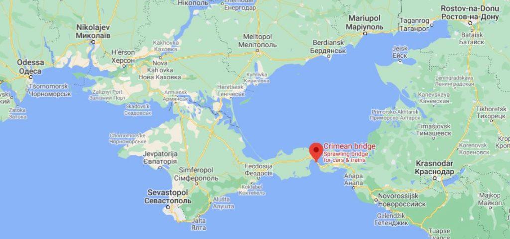 Krimin silta Ukraina