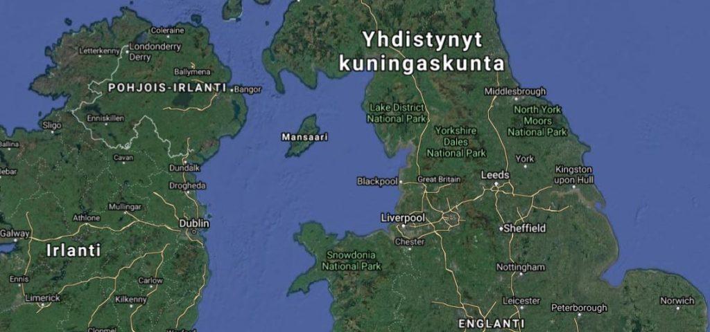 Mansaari kartta
