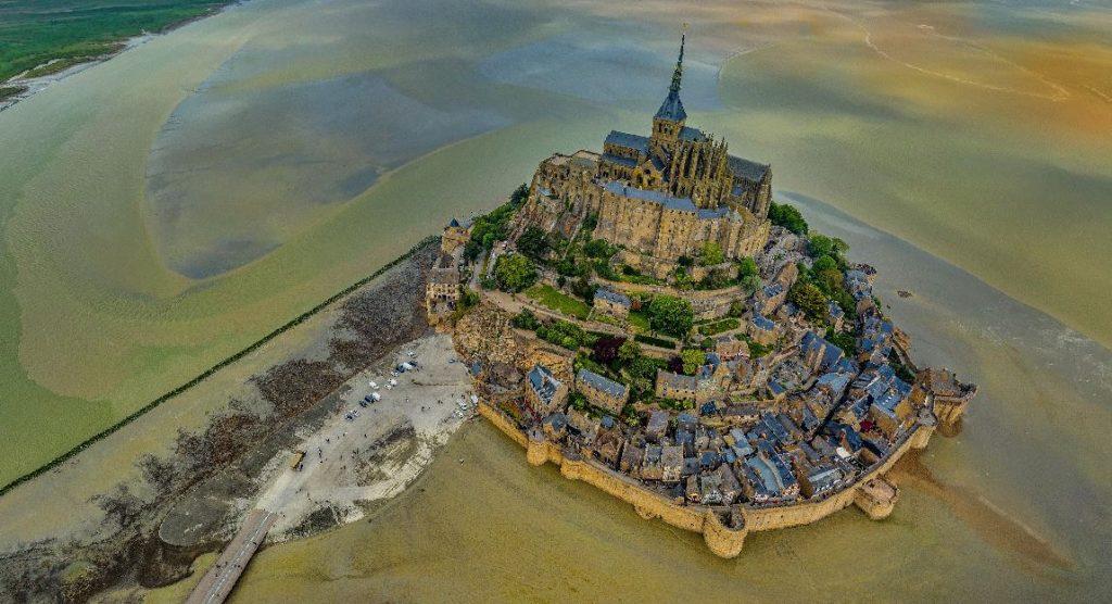Saint-Michelin luostarisaari Normandia